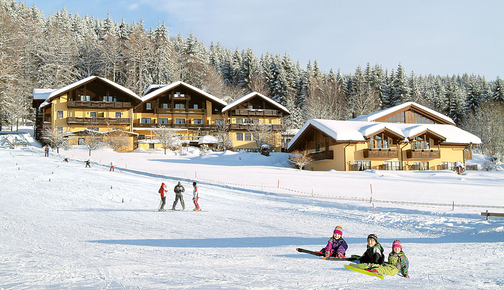 Wellnesshotel mit Skilift am Arber