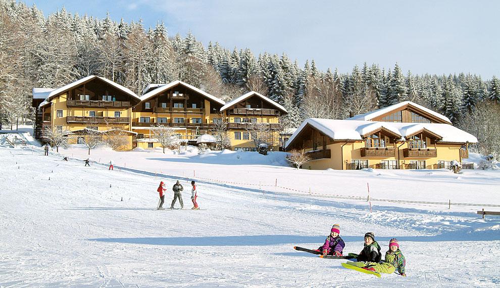 Skilift Riedlberg Im Bayerischen Wald Hotel Direkt Am Skilift