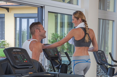 Fitness und Training im Wellnesshotel